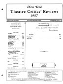 New York Theatre Critics  Reviews