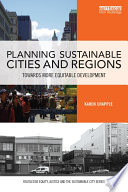 Planning Sustainable Cities And Regions Book PDF