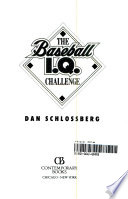 The baseball I.Q. challenge