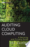 Auditing Cloud Computing Book PDF