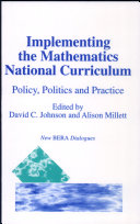 Implementing the Mathematics National Curriculum