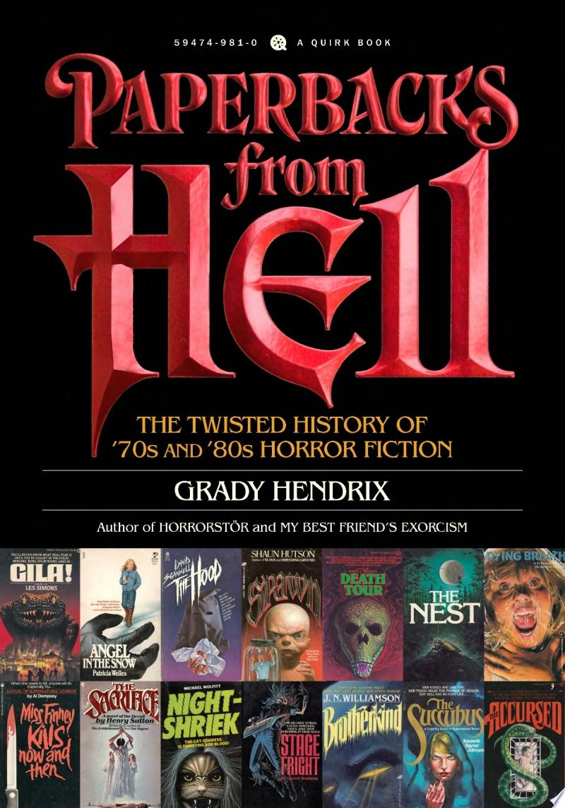 Paperbacks from Hell image