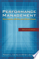 Performance Management: Concepts, Skills and Exercises