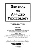 General And Applied Toxicology Book PDF