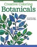 Creative Coloring Botanicals Book PDF