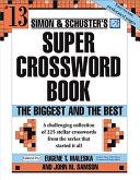 Simon and Schuster Super Crossword Puzzle Book #13