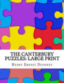 Download The Canterbury Puzzles: Large Print Epub