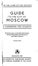 Guide to the City of Moscow Book
