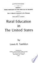 Equal Educational Opportunity: Education in rural America