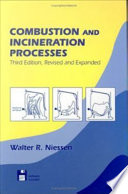 Combustion And Incineration Processes Book PDF