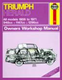 Triumph Herald Owner s Workshop Manual