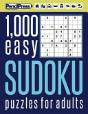1000 Easy Sudoku Puzzles Book for Adults