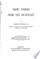 Short Stories from the Dictionary Book