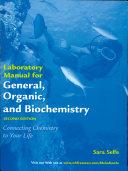 General, Organic, and Biochemistry Lab Manual