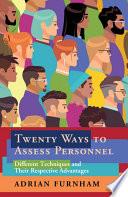 Twenty Ways to Assess Personnel Book