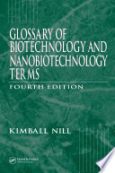 Glossary Of Biotechnology Terms Fourth Edition Book PDF