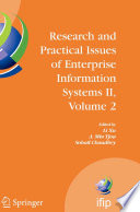 Research and Practical Issues of Enterprise Information Systems II Volume 2 Book