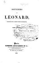 Souvenirs de Léonard, Coiffeur de la reine Marie-Antoinette