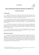 Pdf OECD Guidelines for the Testing of Chemicals, Section 3 Test No. 312: Leaching in Soil Columns