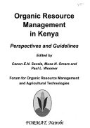 Organic Resource Management in Kenya