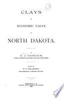 Clays of economic value in North Dakota
