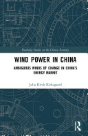 Pdf Wind Power in China Telecharger