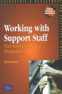 Working with Support Staff