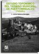 Estudio toponímico del término municipal de Puertomingalvo (Teruel)