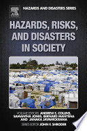Hazards  Risks  and Disasters in Society