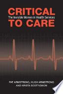 Critical to Care Book