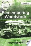 Remembering Woodstock Book