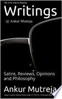 Writings Ankur Mutreja