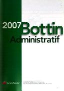 Bottin administratif