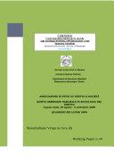 QUINTO SEMINARIO NAZIONALE DI SOCIOLOGIA DEL DIRITTO Capraia Isola, 29 agosto - 5 settembre 2009