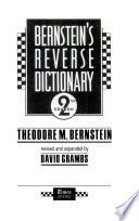 Bernstein's Reverse Dictionary