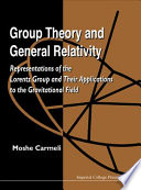 Group Theory and General Relativity