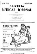 Calcutta Medical Journal Book