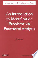 An Introduction To Identification Problems Via Functional Analysis Book PDF