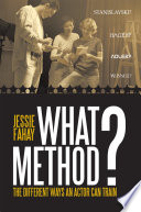 What Method  Book