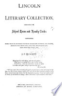 Lincoln Literary Collection, Designed for School-room and Family Circle