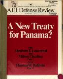 A New Treaty For Panama