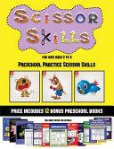 Preschool Practice Scissor Skills  Scissor Skills for Kids Aged 2 to 4  Book