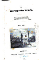The Retrospective Review, and Historical and Antiquarian Magazine ebook