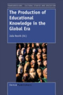 The Production of Educational Knowledge in the Global Era