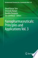 Nanopharmaceuticals  Principles and Applications Vol  3
