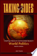 Taking Sides: World Politics  : Clashing Views on Controversial Issues in World Politics
