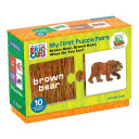The World of Eric Carle Brown Bear  Brown Bear  What Do You See  My First Puzzle Pairs