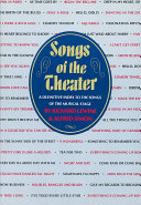 Songs Of The Theater Book PDF