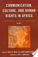 Communication  Culture  and Human Rights in Africa