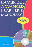 Cambridge Advanced Learner s Dictionary PB with CD ROM